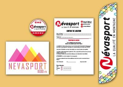 Névasport – Promotion de l'enseigne – Hiver 2014/15