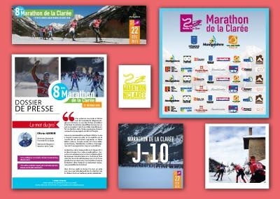 Marathon de la Clarée 2015 – Coordination de l'évènement et communication