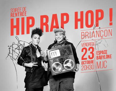 ESPACE BABYLONE – Affiche – Soirée Hip Rap Hop – 2015