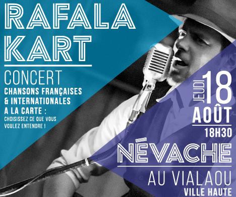 OFFICE DU TOURISME DE NÉVACHE – Affiche – Concert Rafalakart – 2016
