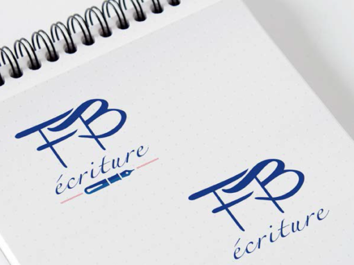 FB ÉCRITURE – Logotype – 2015