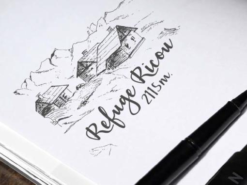 REFUGE RICOU – Logotype – 2016