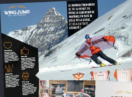 WINGJUMP – Plaquette – Démarchage professionnel – 2016