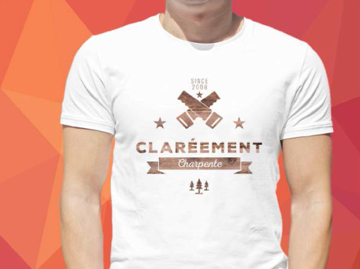CLARÉEMENT CHARPENTE – T-shirt – 2016